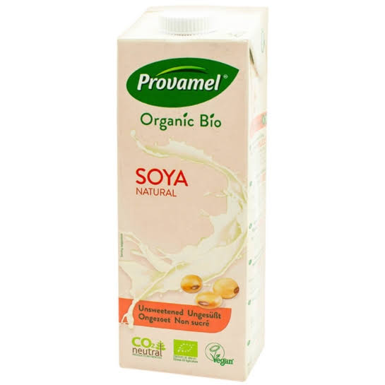 Provamel Natural Soya Milk - Unsweetened, 1L