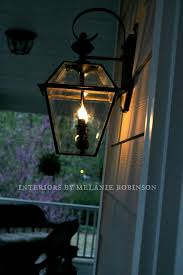 Gas Lamp Mantles Outdoor by Faux Gas Street Lamp Makeover