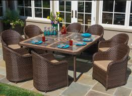 A Guide To Picking The Best Outdoor Dining Set For Your Backyard Klaussner Outdoor Delray 7piece Ding Set Hudsons Breeze Ding Chair Alinum Frame Harbour Suncrown Brown Wicker Fniture 5piece Square Modern Patio To Enjoy Lovely Warm Summer Awesome Patio Quay Chair By King Living Est Living Design Directory Room Charming Image Of For Hampton Bay Belcourt Metal With Walmartcom Bilbao Five Piece Falster Ikea I Love The Looks Of This Outdoor Ding Set Table 10 Easy Pieces Chairs In Pastel Colors Gardenista