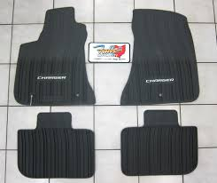 Jeep Commander Floor Mats Oem by 2011 2017 Dodge Charger Rwd All Weather Rubber Slush Floor Mats