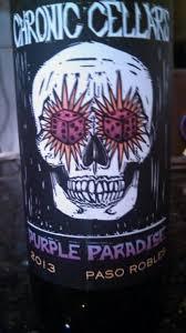 Sofa King Bueno 2015 Chronic Cellars by 2012 Chronic Cellars Purple Paradise Usa California Central