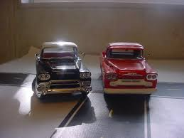 A Pair Of 58 GM Pickup Trucks. - Diecast And Resincast Models ... New 55 Lift Springs In Rear Chevy Truck Forum Gm Club Stepside Fender Flares Gmt400 The Ultimate 8898 A Pair Of 58 Pickup Trucks Diecast And Resincast Models Dodge Tow Mirrors On Speed Eeering 9906 1 34 Truck Header Fitment K1500s Khosh S10 Gmc Sonoma Ducedinfo 87 K10 Parts Square Body 1973 1987 2004 Silverado Search For Custom Pinkbike Gm Trucks Sweep Ford S F Series Propel Automaker To Top 25 Front 2 Level Kit 2014 2018