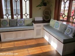 Luxury Kitchen Bench Cushions | KhetKrong Remodelaholic Build A Custom Corner Banquette Bench Diy Kitchen Using Ikea Cabinets Hacks Pics On Ding Tables Table With Storage Tom Howley Seat With Storage Draws Banquettes Pinterest Best 25 Banquette Ideas On Room Comfy And Useful Home Improvement 2017 Antique Finish Ipirations Design Fniture Grey Entryway Seating Small