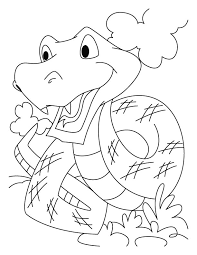 The Longest Snake Coloring Pages