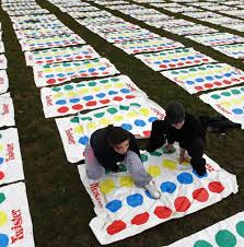 Competitors Of Twister Called The Game Sex In A Box