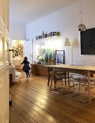 wohnzimmer altbau berlin esszimmer dielen