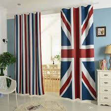 Curtain Materials In Sri Lanka by 2017 Trend British American Flag Pattern Living Room Curtain