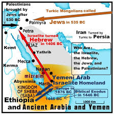 Who Are The Israelite Hebrew Jews And Palestinians