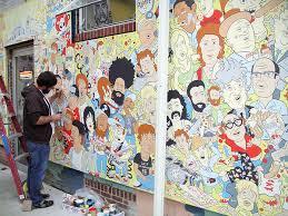 Kurt Vile Mural Philadelphia by Espo In Philadelphia Street Art Pinterest Philadelphia