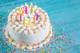 3840x2540 birthday cake 4k hd background wallpaper free