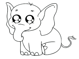 Cute Farm Animals Coloring Pages Baby Animal Printable