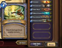 Hearthstone Arena Deck Builder Help by Build A Kick Mage Deck In Hearthstone