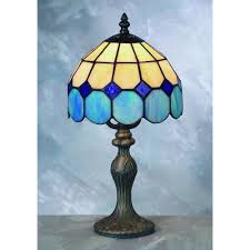 Tiffany Style Lamp Shades by Blue Tiffany Lamp Home Blogar