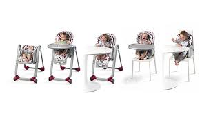 chaise haute polly progres5 grey chicco les bébés du bonheur