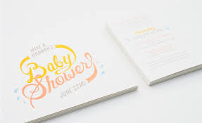 Baby Shower Logo by Baby Shower Aaron Groh Design