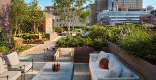 100 Tribeca Roof New York Decks Deck Garden Project Is Now