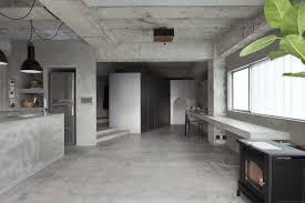 100 Interior Designers Residential Design A Concrete Apartment