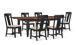 Adler Dining Table And 6 Side Chairs   American Signature Furniture 4 X Dutch Rosewood Dingroom Chair 88667 Sjlland Table6 Chairs W Armrests Outdoor Glassfrsnduvholmen Different Types Of Small Arm Chair Home Office Ideas Set 6 Black Metal Ding Room Chairs 1980s 96891 Sublime Gold Baroque Armrest Wooden Modern Room For Waiting Rooms Office With Georgian Style Ding Room Chairs Dark Cherry Finish By Designer Danish Wikipedia Saar By Piet Boon Collection Ecc Pladelphia Freedom Classic Arms 2 Cramco Inc Shaw Espresso Harvest Chenille Upholstered