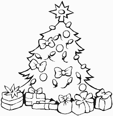 Christmas Coloring Pages For Kindergarten Students Religious Holiday Tree Page Preschool