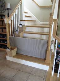 10 DIY Baby Gates For Stairs Baby Gate For Stairs With Banister Ipirations Best Gates How To Install On Stairway Railing Banisters Without Model Staircase Ideas Bottom Of House Exterior And Interior Keep A Diy Chris Loves Julia Baby Gates For Top Of Stairs With Banisters Carkajanscom Top Latest Door Stair Design Wooden Rs Floral The Retractable Gate Regalo 2642 Or Walls Cardinal Special Child Safety Walmartcom Designs