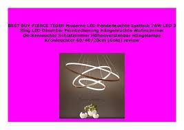 discount fierce tiger moderne led pendelleuchte esstisch 76w