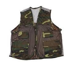 Image Is Loading Vintage Camouflage Hunting Vest Mens Streetwear Size XL