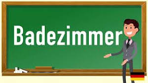 how to pronounce badezimmer in german