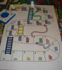 Numicon Snakes And Ladders