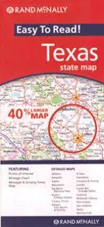 Rand McNally Texas Travel Map