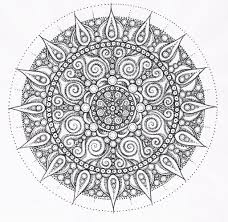 Adult Coloring Page Free Printable Mandala Pages For With Adults