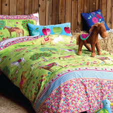 Girls Pony Horse Bedroom Ideas Horses Duvet Set Girls Horse