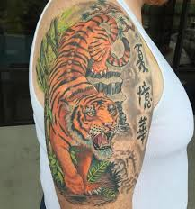 Tiger Tattoo Meaning And Best Designs