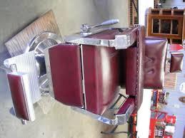 1960 koch s barber chair w child seat