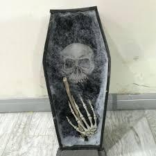Halloween Coffin Prop by Coffin Trinket Box Halloween Coffin With Led Halloween Decorations