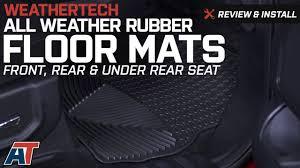 Weathertech Floor Mats 2015 F250 by 2015 2017 F150 Weathertech All Weather Front Rear U0026 Under Rear
