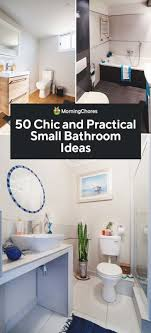 50 chic and practical small bathroom ideas