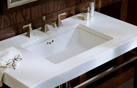 bathroom ideas single undermount kohler bathroom sinks with small