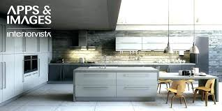 Gray Wood Cabinets Distressed Grey Kitchen White Floors Light