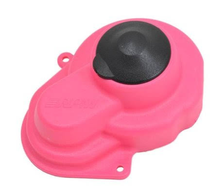 RPM 80527 Traxxas Stampede Rustler Bandit Slash 2WD Spur Gear Cover - Pink, Scale 1:10