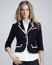 new thom browne xxl women u0027s sports jacket blazer wool navy blue