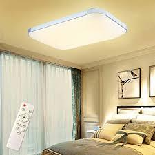 froadp 72w dimmbar led modern deckenleuchte deckenle mit fernbedienung flur wohnzimmer le schlafzimmer küche energie sparen licht wandleuchte