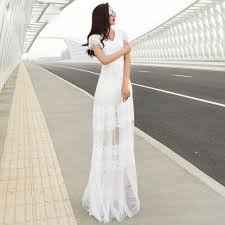 collection white short sleeve maxi dress