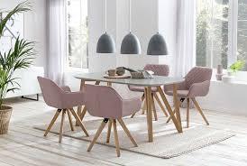esszimmer essgruppe 5 tlg weiß rosé günstig möbel küchen büromöbel kaufen froschkönig24