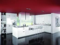 moderne u form küche weiß