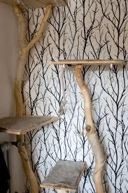 wohnen mit katzen kratzbäume katzenmöbel und