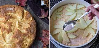 saftiger apfelkuchen mit zimt und marzipan