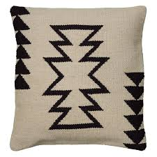 Southwest Decoratives Quilt Shop by Rizzy Home Woven Southwestern Zig Zag Pattern Decorative Throw