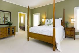 Green Is An Ideal Color Choice For The Tropical Bedroom From Mark Pinkerton