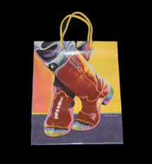 Leanin Tree Christmas Cards Western by Leanin U0027 Tree Gift Bag Rodeo Wolves Cowboy Boots Old Lady Native
