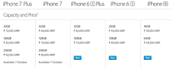 Apple iPhone 7 iPhone 7 Plus price details revealed goes up to